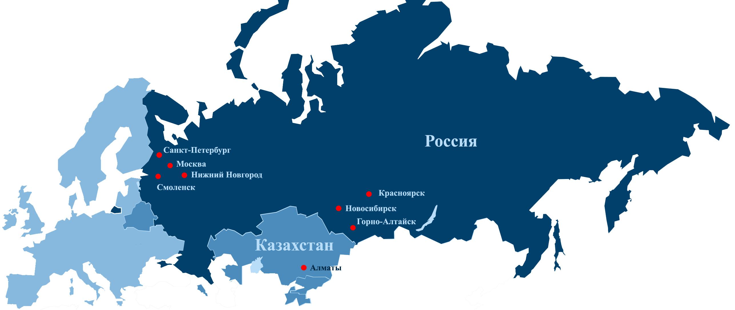 на сайт карта казахстан